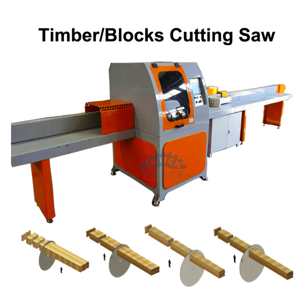 Automatic Cut-Off Saw for Wood
